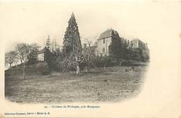 Dpts Div.-ref-AK775- Dordogne - Monpazier - Environs -  Chateau De Péchegut - Chateaux - Carte Bon Etat - - Other Municipalities