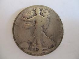 USA Half Dollar 1919 (silver) - 1916-1947: Liberty Walking