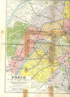 PARIS  OLD MAPS - Geographical Maps