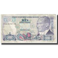 Billet, Turquie, 1000 Lira, 1970, 1970-10-14, KM:191, TB - Turquie