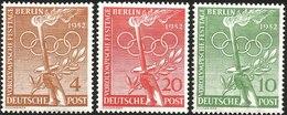 V) 1952 GERMANY, PRE-OLYMPIC FESTIVAL DAY, MNH - [7] Federal Republic