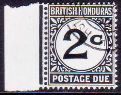 British Honduras 1956 SG #D2a 2c Used Postage Due CV £22 Chalk-surfaced Paper - British Honduras (...-1970)