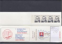 Slowakische Republik Michel Cat.No. Booklet  Mnh/** 166 (2) - Unused Stamps