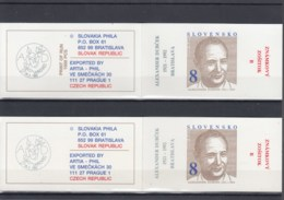Slowakische Republik Michel Cat.No. Booklet   Mnh/** 172 Four Diff - Unused Stamps