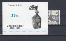 Slowakische Republik Michel Cat.No. Booklet    Mnh/** 0-3 - Unused Stamps