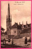 Sizun - Eglise - Clocher De Bretagne - Animée - Edit. E. HAMONIC - 1933 - Sizun