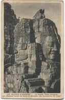 4 Oude Postkaarten  - Angkor Temple Tempel Ruines - Ed. Nadal Saigon - Imp. Braun - Cambodge