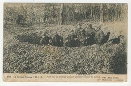 Guerre 14-18 -      Petit Trou De Marmite Pouvant Aisément Contenir 12 Soldats - War 1914-18