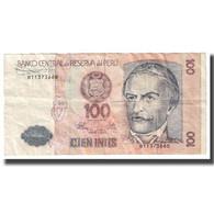 Billet, Pérou, 100 Intis, 1987, 1987-06-26, KM:133, TB - Peru
