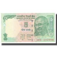 Billet, Inde, 5 Rupees, 2010, KM:88Ab, NEUF - Inde