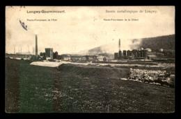 54 - LONGWY-GOURNICOURT - HAUTS FOURNEAUX DE LA CHIERS - EDITION V.KREMER - Longwy