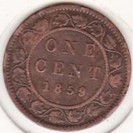 CANADA. ONE CENT 1859. VICTORIA - Canada