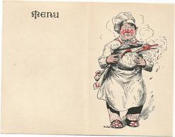 W4086 Menù - Illustrazione Illustration Sabatini - Non Scritto - Menu