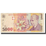 Billet, Roumanie, 5000 Lei, 1998, KM:107a, TB - Roumanie
