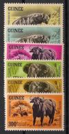 Guinée - 1964 - N°Yv. 202 à 207 - Faune - Neuf Luxe ** / MNH / Postfrisch - Guinée (1958-...)