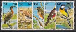 Kenya - 1984 - N°Yv. 284 à 288 - Oiseaux / Birds - Neuf Luxe ** / MNH / Postfrisch - Oiseaux