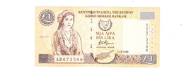 BANKNOTES-CYPRUS-SEE-SCAN-CIRCULATED - Cyprus