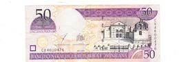 BANKNOTES-DOMINICANA-SEE-SCAN-CIRCULATED - Dominicana