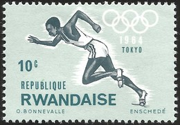 V) 1964 RWANDAISE, 18TH OLYMPIC GAMES, TOKYO, MNH - Rwanda