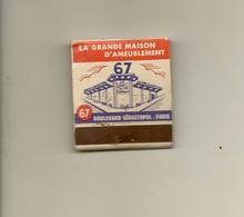 Pochette Allumettes LASTAR De 1955 Neuve Et Pleine:MALLAT-MEUBLES à Paris 2° - Boites D'allumettes