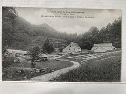 Plancher Les Mines. Scierie Dans La Vallée De St-Antoine - Frankrijk