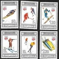 V) 1976 ALBANIA, 12TH WINTER OLYMPIC GAMES, INNSBRUCK, AUSTRIA, MNH - Albania