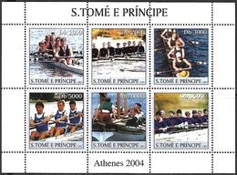 St Thomas & Prince Islands 2003   Sc#1574  5000d  Olympics Sheet MNH  2016 Scott Value $8 - Sao Tome Et Principe