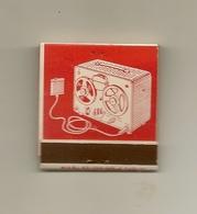 Pochette Allumettes LASTAR De 1957 Neuve Et Pleine:La Machine à Dicter G.B.G - Boites D'allumettes