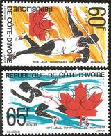 V) 1976 IVORY COAST, 21ST OLYMPIC GAMES, MONTREAL, CANADA, MNH - Ivory Coast (1960-...)