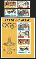V) 1976 KENYA, 21ST OLYMPIC GAMES, MONTREAL, CANADA, MNH - Kenya (1963-...)