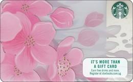 Singapore Starbucks Card Happy Sakura - 2018 - Gift Cards