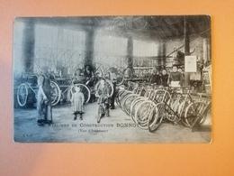 Cpa Ateliers De Construction Bonnot Vélo Cycles - Unclassified