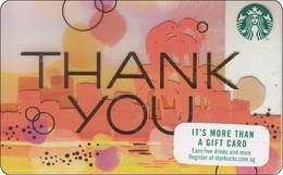 Singapore Starbucks Card Thank You - 2018 - Gift Cards