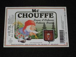 Bier Etiket MC CHOUFFE Brouwerij D' ACHOUFFE Brasserie - Other