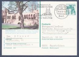 Germany-BRD - Bildpostkarte Von 1978 - P 125 F 5/80 - Gebraucht - Gelnhausen Im Kinzigtal (P125) - [7] Repubblica Federale