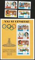 V) 1976 UGANDA, 21ST OLYMPIC GAMES, MONTREAL, CANADA, MNH - Uganda (1962-...)