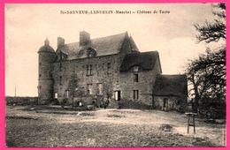 St - Saint Sauveur Lendelin - Château De Taute - Animée - Edit. AUGER - Photo E. LEGOUPIL - Frankreich