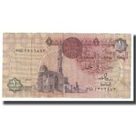 Billet, Égypte, 1 Pound, KM:50d, TB - Egypte