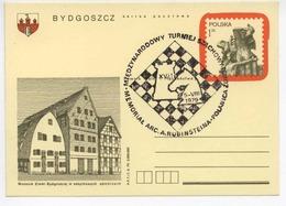 Poland 1979 Chess Rubinstein Tournament / Schachturnier Occas. Cancel H304 - Ajedrez