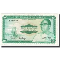 Billet, The Gambia, 10 Dalasis, KM:6a, TTB - Gambie