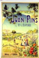 Chemin De Fer P.L.M. -  Juan Les Pins  - Publicité  - Artiste: Gustave Fraipont - Ed.Clouet CPM - Autres