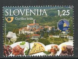 Slovenie, Yv 1003  Jaar 2016, Hogere Waarde,  Gestempeld - Slovénie