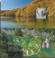 HR 2019-1397-400, CROATIAN TURISAN - PLITVICE LAKES, CROATIA HRVATSKA, BOOKLET WHIT 4S/S, MNH - Kroatien