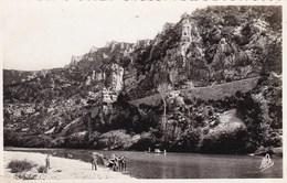 Les Gorges Du Tarn, Train De Barques Au Cirque De Beaune (pk61071) - Gorges Du Tarn