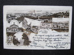 AK BRUCK A.d.Leitha Litho 1897  /// D*39411 - Bruck An Der Leitha