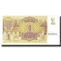 Billet, Latvia, 1 Rublis, 1992, KM:35, SUP - Lettonie