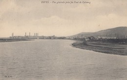 DIVES: Vue Générale Prise Du Pont De Cabourg - Dives