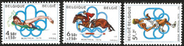V) 1976 BELGIQUE, OLYMPIC GAMES, MONTREAL, CANADA, MN - Unused Stamps