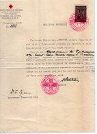 1929 YUGOSLAVIA, KINGDOM OF SHS, SLOVENIA, PTUJ, RUSSIA RED CROSS, 1 FISKAL STAMP - Historical Documents
