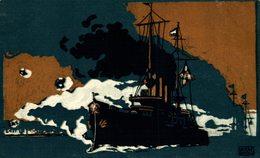 ADOLF SCHOLZ  Künstler-Postkarte Des Central-Komitees Der Deutschen Vereine Vom Roten Kreuz RED CROSS  CROIX ROUGE - Cruz Roja